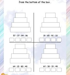 Mental Maths – Grade 1 Math Worksheets - Page 2 [ 3300 x 2550 Pixel ]