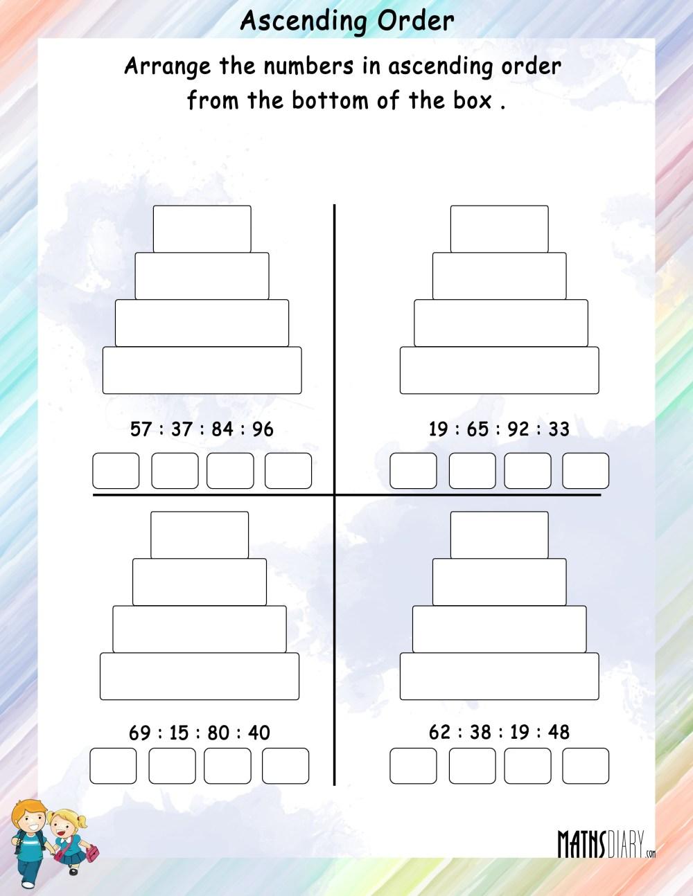 medium resolution of Mental Maths – Grade 1 Math Worksheets - Page 2