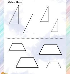 Shapes – Grade 1 Math Worksheets [ 3300 x 2550 Pixel ]
