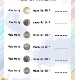 Math Money Worksheet Coins   Printable Worksheets and Activities for  Teachers [ 3300 x 2550 Pixel ]