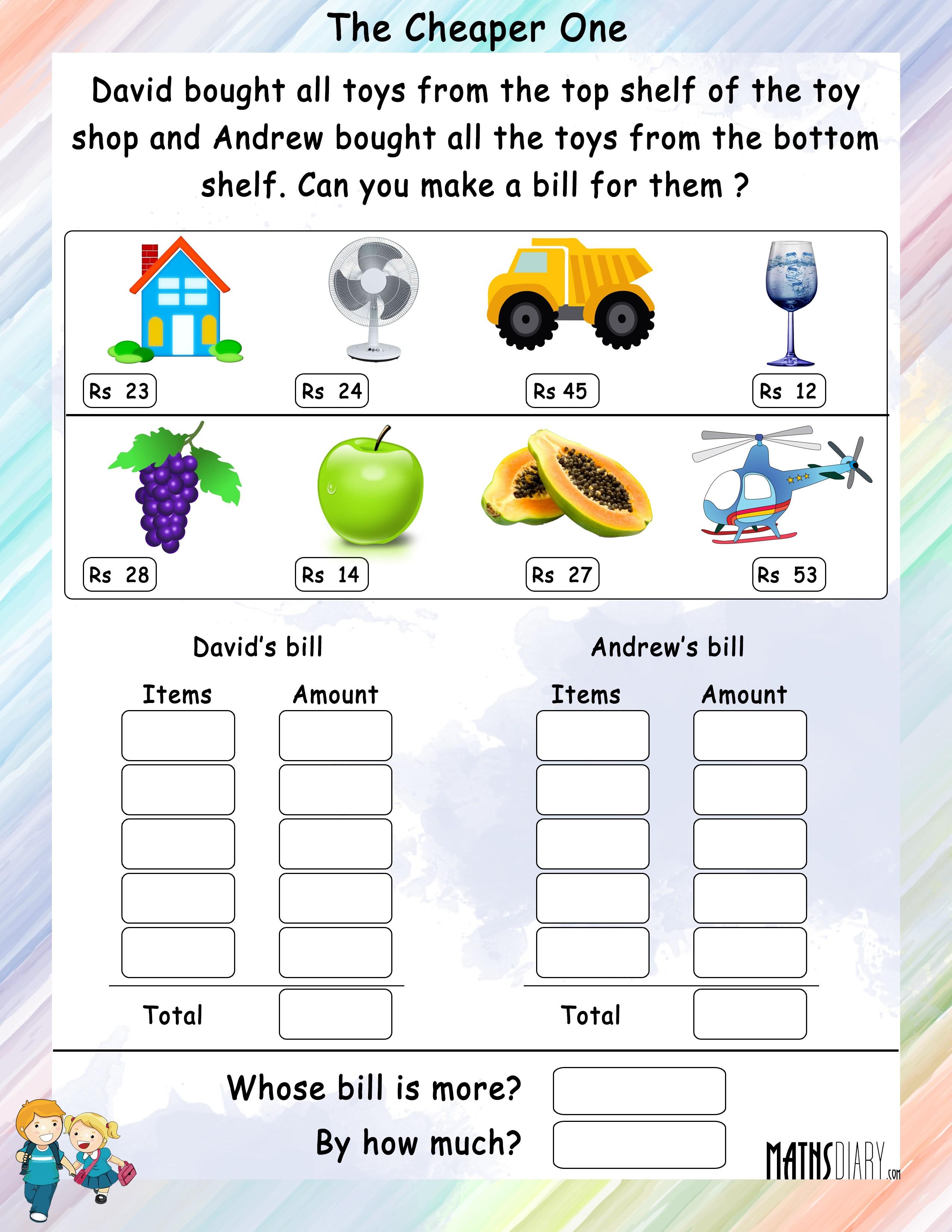 Make A Bill
