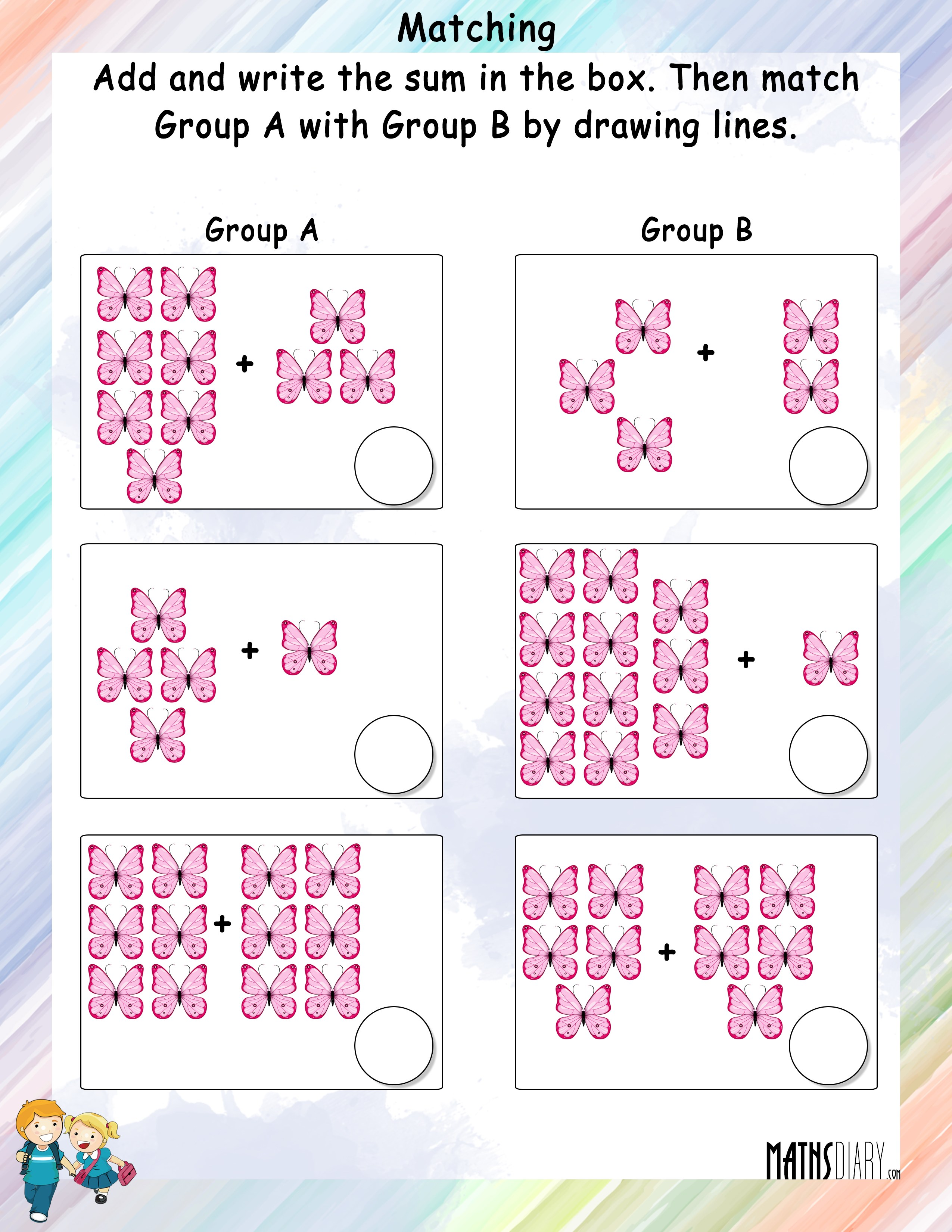 Adding And Matching The Sets