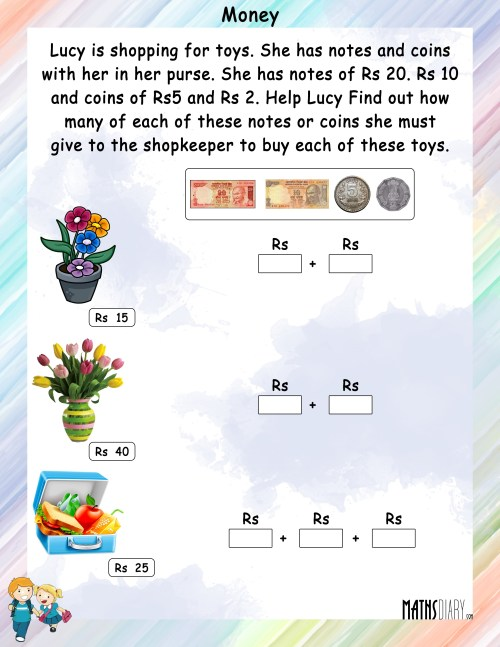 small resolution of Hard Money Math Worksheets   Printable Worksheets and Activities for  Teachers