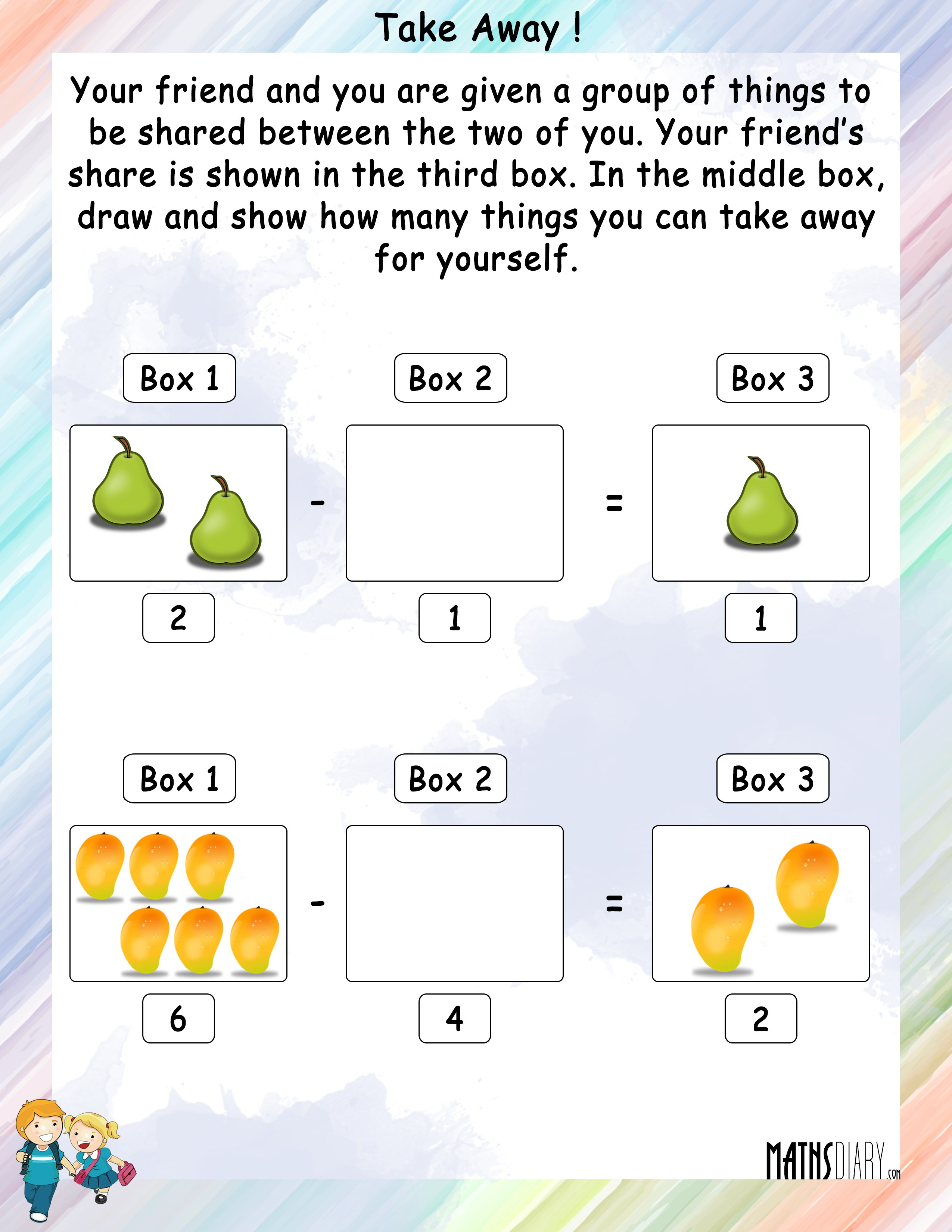 Subtraction Take Away