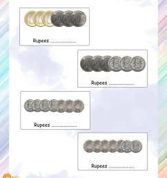 Count the coins and tell the amount worksheets - Math Worksheets -  MathsDiary.com [ 3300 x 2550 Pixel ]
