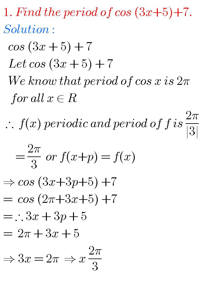 Trigonometric Ratios upto transformations intermediate
