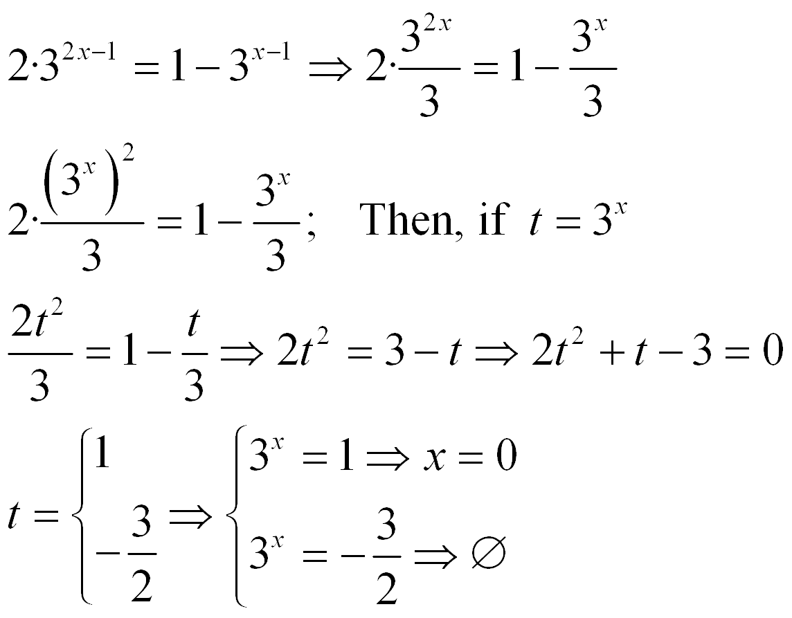 Solve Log Equations Algebraically