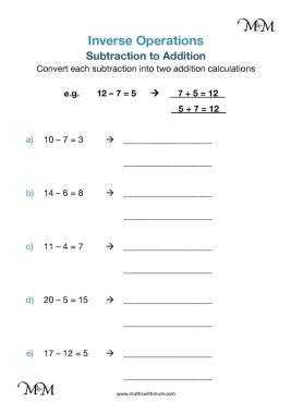 writing addition sentences worksheet pdf