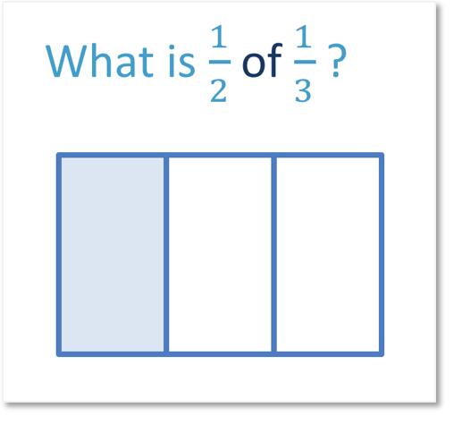 the proper fraction one third