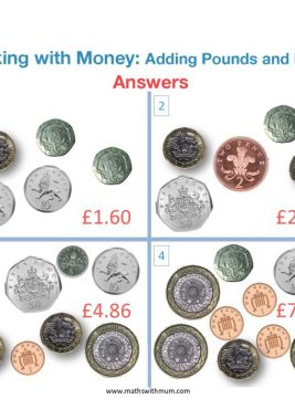 counting pounds and pence worksheet answer pdf