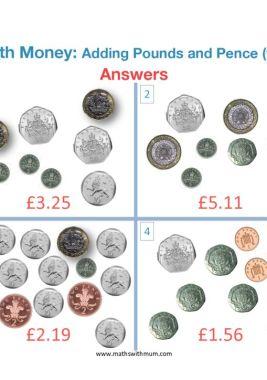adding uk money worksheet answer pdf
