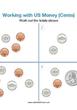 american money worksheet pdf