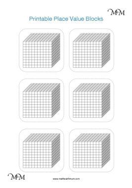 teaching regrouping using printable base ten blocks pdf