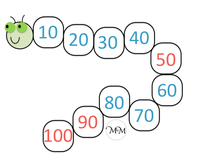 answers to skip counting backwards worksheet