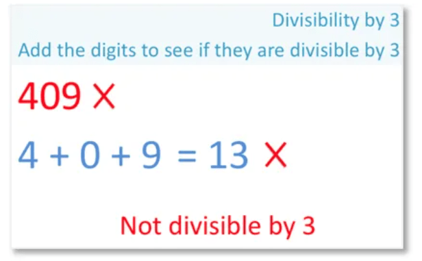 example of a number that is not a multiple of 3