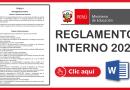 Reglamento Interno Desarrollado y Contextualizado 2021