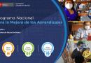 PerúEduca apertura nuevo grupo de docentes para el Programa Nacional para la Mejora de los aprendizajes