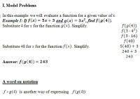Composition of Functions of worksheet (pdf) and Answer Key ...