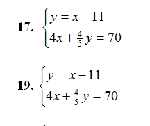 Solving Systems of Linear Equations (pdf) . Mixed problems