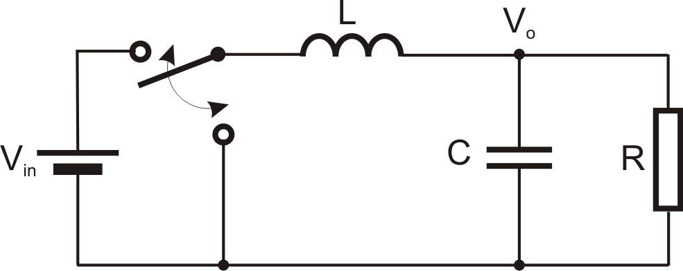 determines the output voltage of the inductiveboost dcdc converter