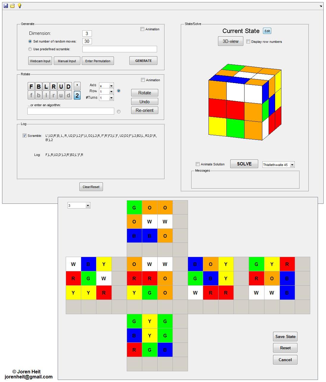 rubik s cube simulator