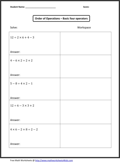 small resolution of Order Of Operations - Lessons - Blendspace