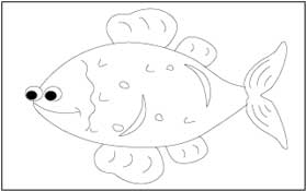 Sea Animals Coloring and Tracing Pages