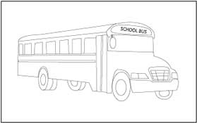 Vehicles Coloring and Tracing Pages