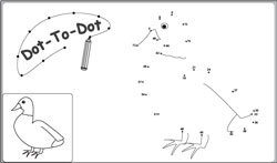 Skip Count by 3 Connect the Dots Coloring Pages