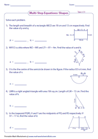 All Worksheets  Solving Multi Step Word Problems ...