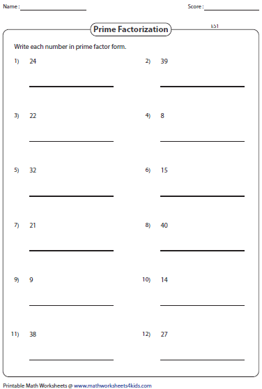 Algebra 1 Unit 8 Factoring By Using The Gcf Worksheet