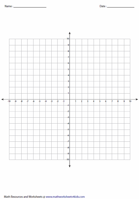 graph paper quadrants