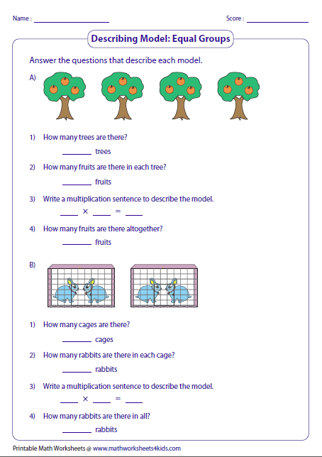 multiplication arrays worksheet 2nd grade. Black Bedroom Furniture Sets. Home Design Ideas