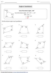Special Quadrilaterals Worksheet. Worksheets. Ratchasima ...