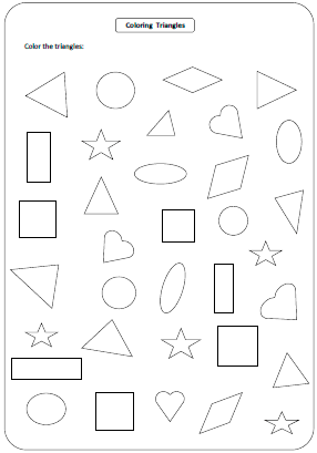 Shapes Worksheets and Charts