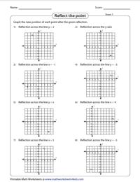 Reflection Worksheets