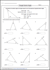 Alge Worksheets 7th Grade Math Angles. Alge. Best Free ...