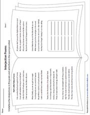 5th Grade Language Arts Worksheets