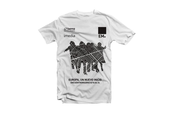 Camiseta EM16