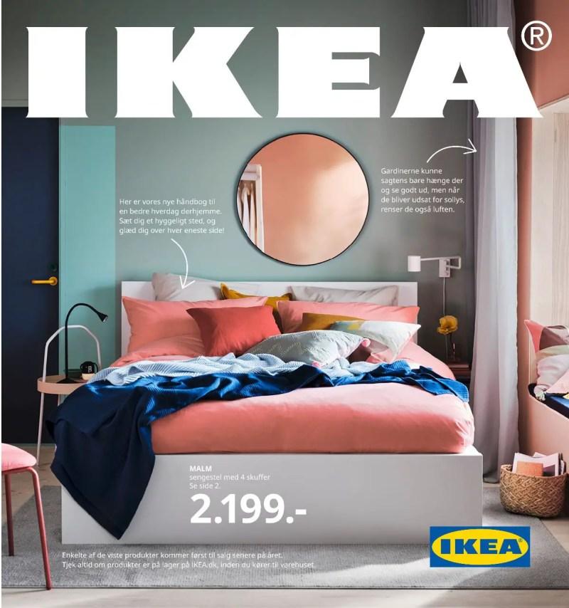 ikea 2021 katalog forside sengestel songesand