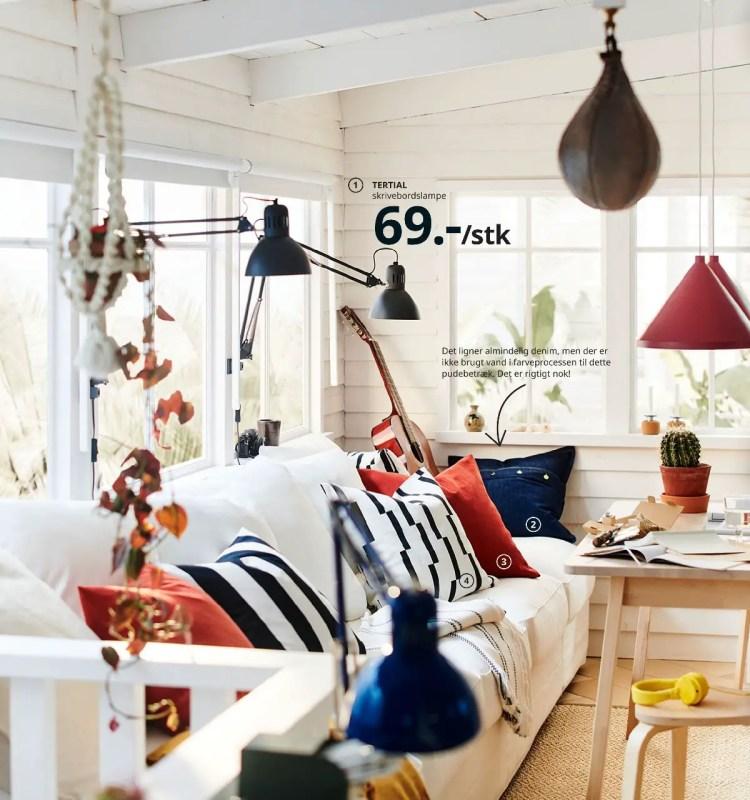 bord norraker stole omtanksam taburet skrivebordslampe ikea 2021 katalog side 12