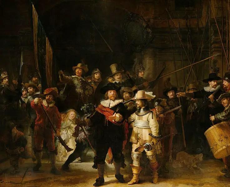 Rembrandt, Η Νυχτερινή Περίπολος
