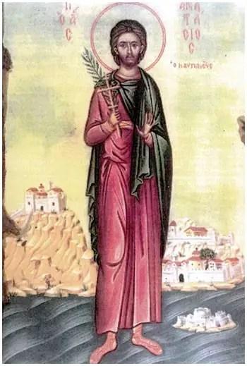 Άγιος Αναστάσιος ο Ναυπλιεύς ο Νεομάρτυς