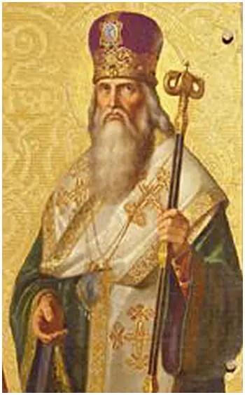 Άγιος Ταράσιος ο Αρχιεπίσκοπος Κωνσταντινουπόλεως