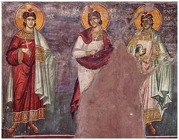 Άγιοι Μανουήλ, Ισμαήλ και Σαβέλ