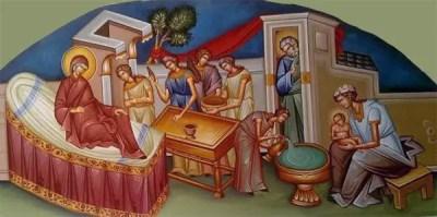 Γενέσιον Θεοτόκου - Έργο του Μανόλη Ζαχαριουδάκη
