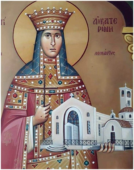 Αγία Αικατερίνη - Αγία Αικατερίνα