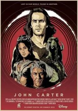 John Carter 2012 poster