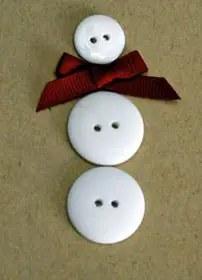 Χριστουγεννιάτικη κάρτα με χιονάνθρωπο!