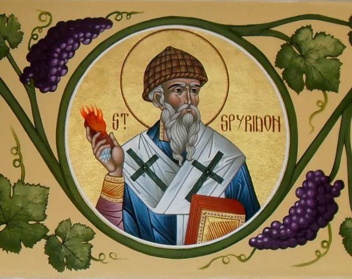 Ο Άγιος Σπυρίδωνας και το θαύμα με το κεραμύδι